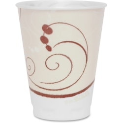 Solo Cup Cozy Touch 12 oz. Insulated Cups - 12 fl oz - 100 / Pack - Beige - Foam - Hot Drink, Cold Drink, Beverage