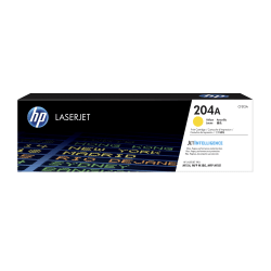 HP 204A (CF512A) Yellow Original LaserJet Toner Cartridge