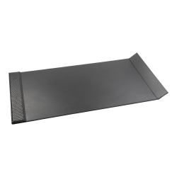 "Realspace™ Woven Executive Pad, 20"" x 36"", Black"