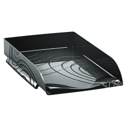 CEP Origins Collection Stackable Letter Tray, Black