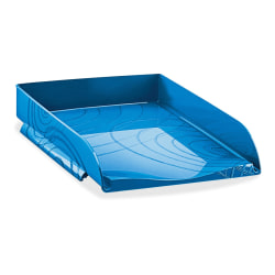 CEP Origins Collection Stackable Letter Tray, Blue