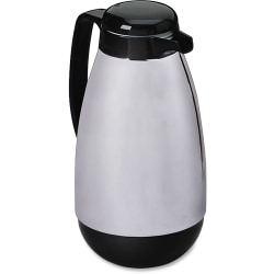 Hormel® Chrome/Black Carafe, 1.0 Liter