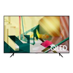 "Samsung Q70T QN55Q70TAF 54.6"" Smart LED-LCD TV - 4K UHDTV - Black - Quantum Dot LED Backlight - Bixby, Google Assistant, Alexa Supported - Tizen - Dolby"