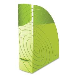 "CEP Origins Polystyrene Magazine File, 12-1/4"" x 10-1/4"", Green"