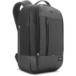 "Solo Carrying Case (Backpack) for 17.3"" Notebook - Black - Damage Resistant - Mesh Pocket - Shoulder Strap, Handle, Luggage Strap - 18.5"" Height x 13"" Width x 3.5"" Depth - 1 Pack"