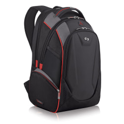 """Solo Launch Backpack For 17.3"""" Laptops, Black/Gray"""