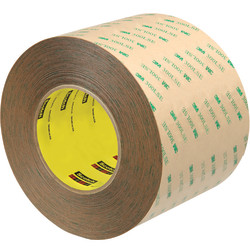 "Scotch® 9472LE Adhesive Transfer Tape Hand Rolls, 3"" Core, 4"" x 60 Yd., Clear, Case Of 8"