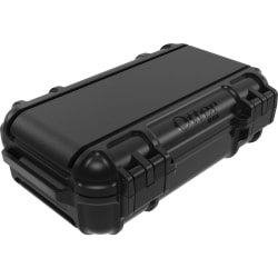 """OtterBox Drybox 3250 Series - Internal Dimensions: 6.89"""" Length x 3.70"""" Depth x 2.01"""" Height - External Dimensions: 6.9"""" Length x 5.1"""" Depth x 2.6"""" Height - 30.48 fl oz - Polycarbonate, Polyethylene, Stainless Steel - Black - For Tablet PC"""