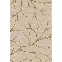 Flagship Carpets Printed Rug, Moreland, 6'H x 9'W, Natural Sage