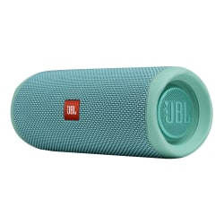JBL Flip 5 Portable Waterproof Speaker, Teal, JBLFLIP5TEALAM-Q