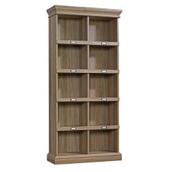 Sauder® Barrister Lane Cubby Bookcase, Tall, Salt Oak