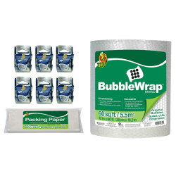 Duck® Brand Small Mailroom Pack And Ship Bundle