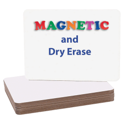 """Flipside Magnetic Dry-Erase Boards, 9"""" x 12"""", White, Pack Of 12"""
