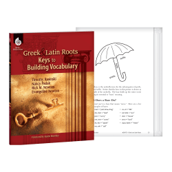 Shell Education Greek And Latin Roots Resource Book, Grade Pre-K - 12