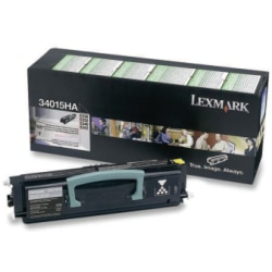 Lexmark™ 34015HA Return Program High-Yield Black Toner Cartridge