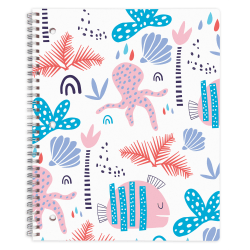 "Office Depot® Brand Fashion Notebook, 8-1/2"" x 10-1/2"", Wide Ruled, 160 Pages (80 Sheets), Nautical"