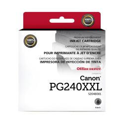 Clover Imaging Group™ 118019 Remanufactured High-Yield Black Ink Cartridge Replacement For Canon PG-240XXL