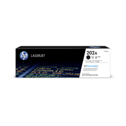 HP 202A (CF500A) Black Original LaserJet Toner Cartridge