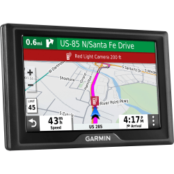 "Garmin Drive 52 Automobile Portable GPS Navigator - Portable, Mountable - 5"" - Touchscreen - microSD - Lane Assist, Junction View - 1 Hour - Preloaded Maps - Lifetime Traffic Updates - WQVGA - 480 x 272"