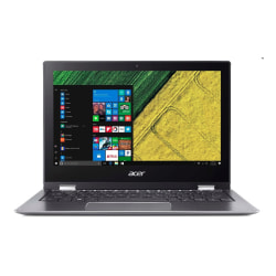 """Acer® Spin 1 Refurbished 2-In-1 Laptop, 11.6"""" Touch Screen, Intel® Pentium®, 4GB Memory, 64GB Flash Storage, Windows® 10 S"""