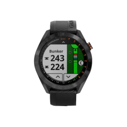 """Garmin Approach S40 - CT10 Bundle - GPS watch - cycle, golf, running 1.2"""" - band size 4.92 in - 7.95 in"""
