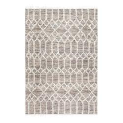 Anji Mountain Raani Jute And Wool Rug, 8' x 10', Brown/Ivory