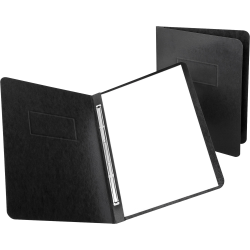 """Oxford® PressGuard® Report Covers With Reinforced Side Hinge, 8 1/2"""" x 11"""", 30% Recycled, Black"""