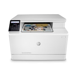 HP Color LaserJet Pro M182nw Wireless Laser All-In-One Printer, Copier, Scanner, 7KW55A#BGJ