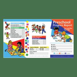 Hayes Preschool Progress Report Cards, Age 4-5, 10 Report Cards Per Pack, Set Of 6 Packs