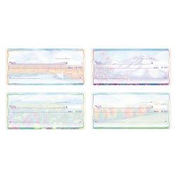 "Personal Wallet Checks, 6"" x 2 3/4"", Singles, Impressions, Box Of 150"