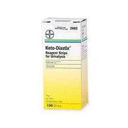 KETO-DIASTIX® Reagent Strips, Box Of 50