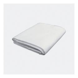 "Mahar Manufacturing Flannel Blanket, 34"" x 58"", White, Pre-K - Grade 3"