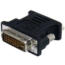 Dvi To Vga Cable Adapter Black Mf Office Depot