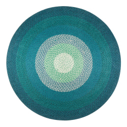 Anji Mountain Aarashi Round Rug, 8', Multicolor