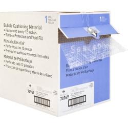 "Sparco Dispenser Carton Bubble Cushioning - 12"" Width x 100 ft Length - 0.2"" Bubble Size - Dispenser, Flexible, Lightweight - Polyethylene - Clear"