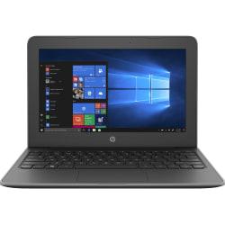 "HP Stream 11 Pro G5 11.6"" Notebook - 1366 x 768 - Intel Celeron N4000 Dual-core (2 Core) 1.10 GHz - 4 GB RAM - 64 GB Flash Memory - Windows 10 Pro - Intel UHD Graphics 600 - 12 Hour Battery - IEEE 802.11a/b/g/n/ac Wireless LAN Standard)"