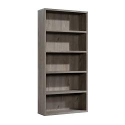 """Sauder® Optimum Bookcase, 73-1/2"""", 5 Shelves, Mystic Oak"""