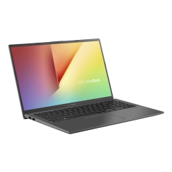 "ASUS VivoBook 15 F512DA-DB34 Laptop, 15.6"" Full HD Screen, AMD Ryzen 3 3250U, 8GB, 128GB Solid State Drive, Windows 10 Home in S Mode"