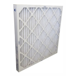 "Tri-Dim Pro HVAC Pleated Air Filters, Merv 13, 15"" x 20"" x 2"", Case Of 6"