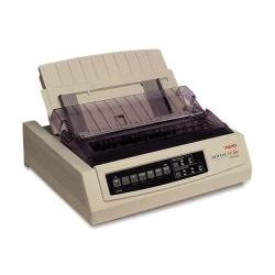 Oki MICROLINE 320 Turbo Dot Matrix Printer - 9-pin - 435 cps Mono - 240 x 216 dpi - Parallel, USB