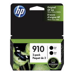 HP 910 Black Ink Cartridges, Pack Of 2 Ink Cartridges