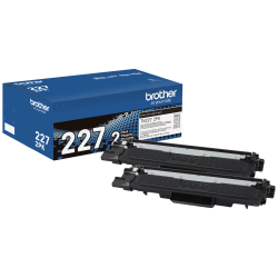 Brother® TN-227 High-Yield Black Toner Cartridges, Pack Of 2 Cartridges