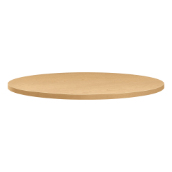 """HON Between Table Top, Round, 36""""D - Natural Maple Round Top - 1.13"""" Table Top Thickness x 36"""" Table Top Diameter"""