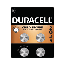 Duracell® 3-Volt Lithium Coin Batteries, Pack Of 4, 2025