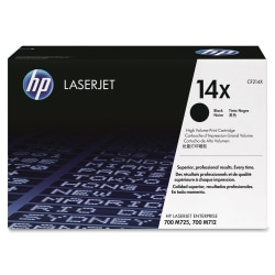 HP 14X (CF214X) Black Toner Cartridge