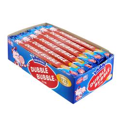 Dubble Bubble Original Gum Big Bars, Pack Of 24