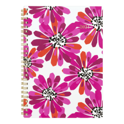 """Cambridge® Weekly/Monthly Planner, 5-1/2"""" x 8-1/2"""", Power Plant, January To December 2021, 1465-200"""