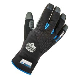 Ergodyne ProFlex 817WP Reinforced Thermal Waterproof Utility Gloves, Medium, Black