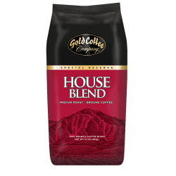 Gold Coffee Company House Blend Ground Coffee, 10 Oz