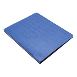 Wilson Jones® Presstex® Side-Bound Grip Binder, 60% Recycled, Dark Blue